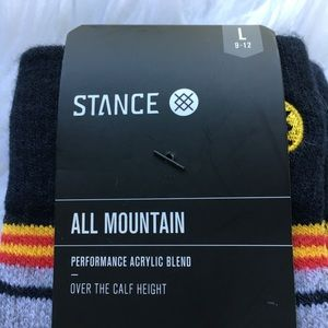 Stance Underwear & Socks - NWT STANCE ALL MOUNTAIN SOCKS SIZE L